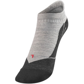 Falke TK5 Invisible Socks Women grey/black